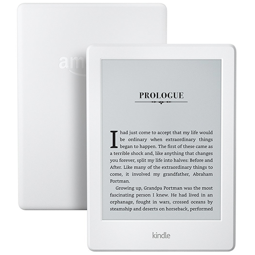 Amazon Kindle Touchscreen Wi-Fi 8th Gen (With Ads) White