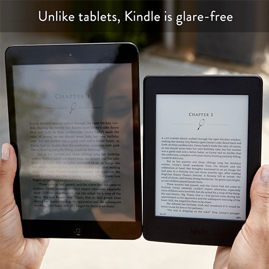 Amazon Kindle Paperwhite Wi-Fi (300 ppi) With Ads Black