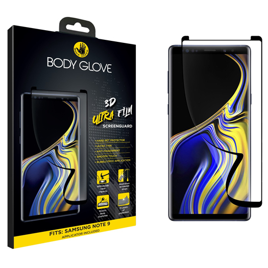 Body Glove 3D Ultra Screen Protector For Galaxy Note 9