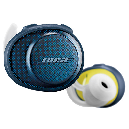 Bose SoundSport Free True Wireless Headphones Midnight Blue Demo