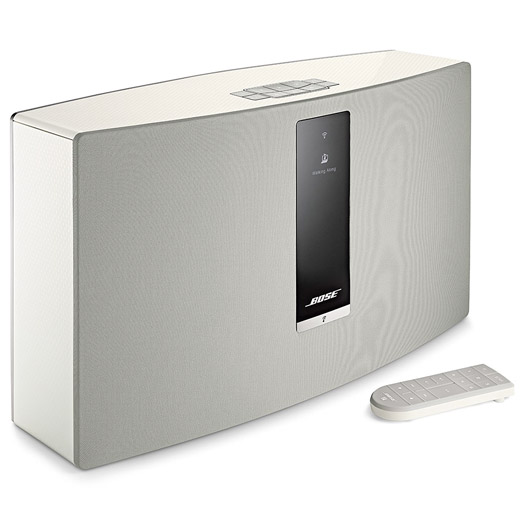 bose soundtouch 30 series iii wireless music system white shop and ship online south africa. Black Bedroom Furniture Sets. Home Design Ideas