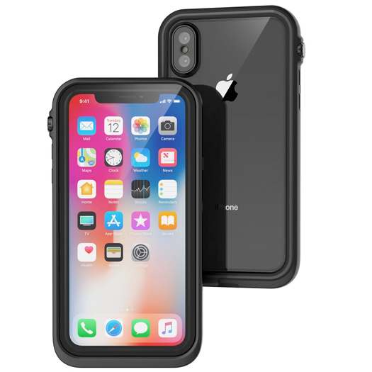 size 40 ac45f 0ea98 Catalyst Waterproof Case For iPhone X Black