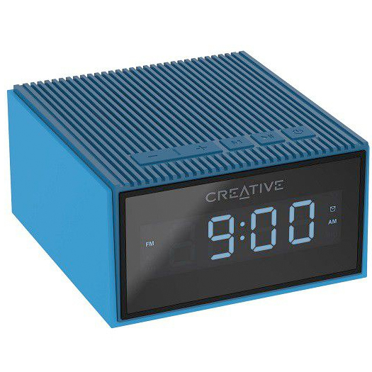 Creative Chrono Bluetooth Alarm Speaker Blue