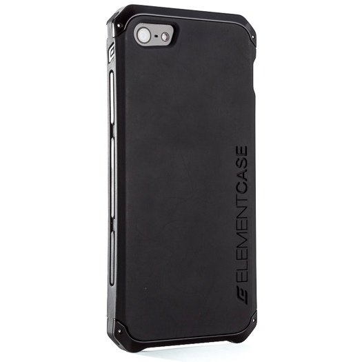 official photos 850fd e7445 Element Case Solace Chroma Cover For iPhone 5/5S Black