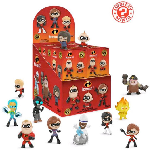 Funko Mystery Mini - Incredibles 2 (12 Pack)