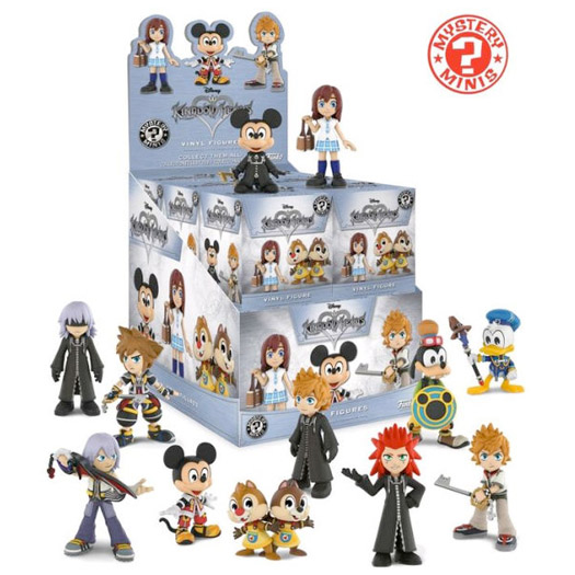 Funko Mystery Mini - Kingdom Hearts (12 Pack)