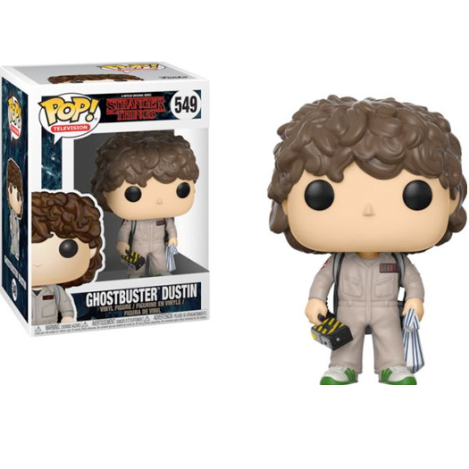 Funko Pop! TV Stranger Things S2 - Dustin Ghostbusters