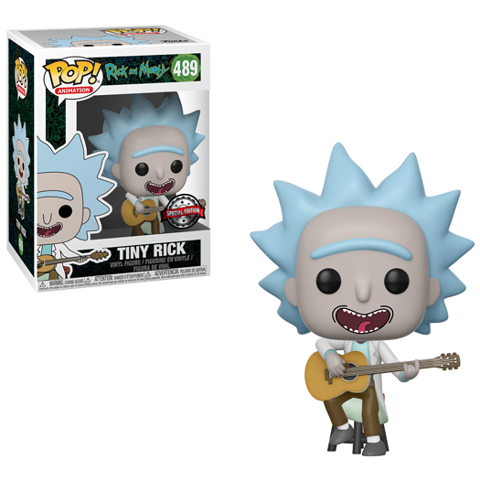 Funko Pop! TV - Rick And Morty - Tiny Rick With Guitar Exclusive