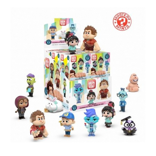 Funko Mystery Mini - Wreck It Ralph 2 (12 Pack)