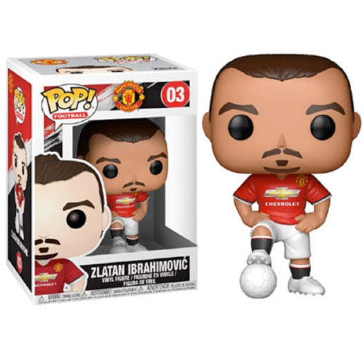 Funko Pop! Football Manchester United - Zlatan Ibrahimovic