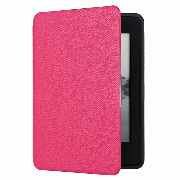 Generic Cover For Amazon Kindle Paperwhite Waterproof Dark Pink (10th Gen - 2018 Model)