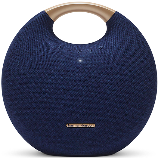 Harman Kardon Onyx Studio 5 Portable Bluetooth Speaker Midnight Blue