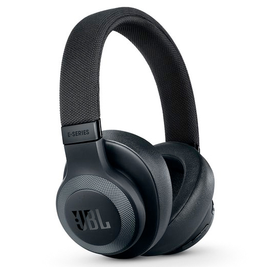 JBL E65BTNC Wireless Noise-Cancelling Headphones Black