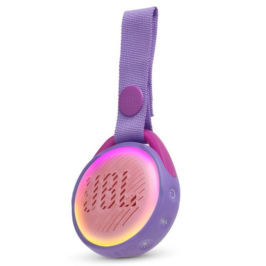 JBL JR Pop Kids Waterproof Bluetooth Speaker Purple