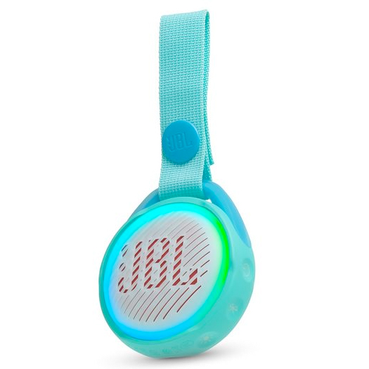 JBL JR Pop Kids Waterproof Bluetooth Speaker Teal
