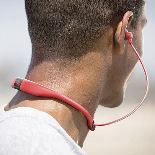 91a0704987d JBL Reflect Fit Heart Rate Wireless Headphones Red - Shop and Ship ...