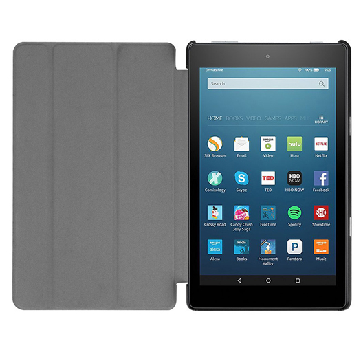 Generic Slim Cover For Amazon Kindle Fire HD 10 inch Black