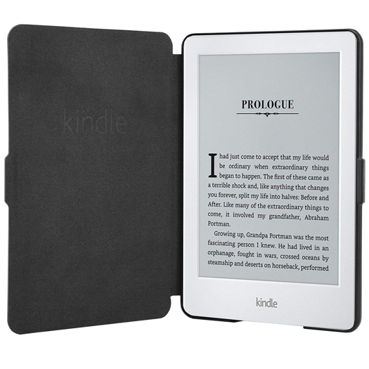 Amazon Kindle Touchscreen Wi-Fi 8th Gen (With Ads) White Bundle