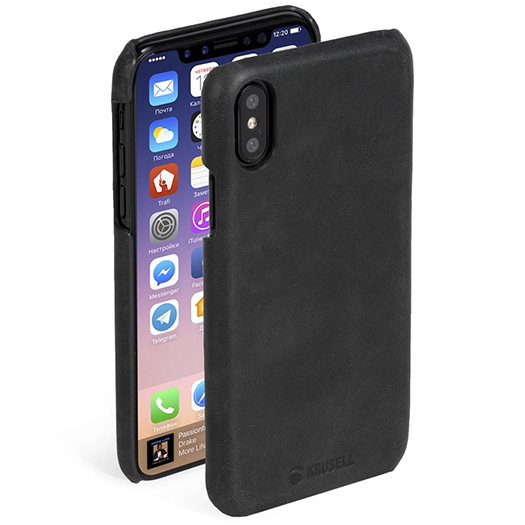Krusell Sunne Cover For iPhone X Black