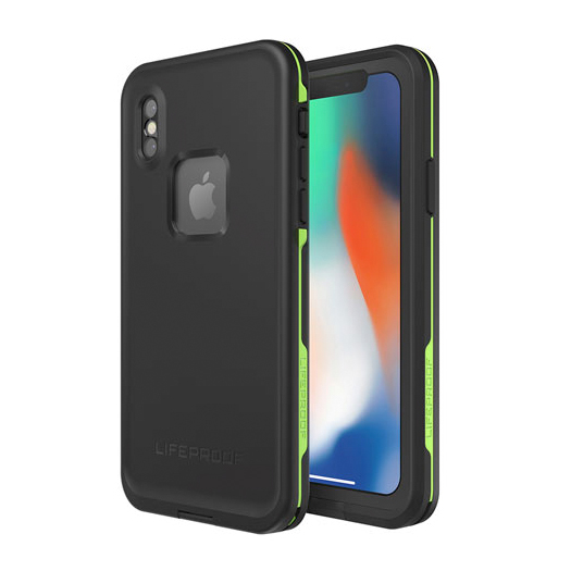 Lifeproof Fre Waterproof Case For iPhone X/Xs Night Lite Black