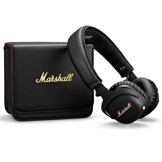 Marshall MID A.N.C Active Noise Cancelling Bluetooth Headphones Black