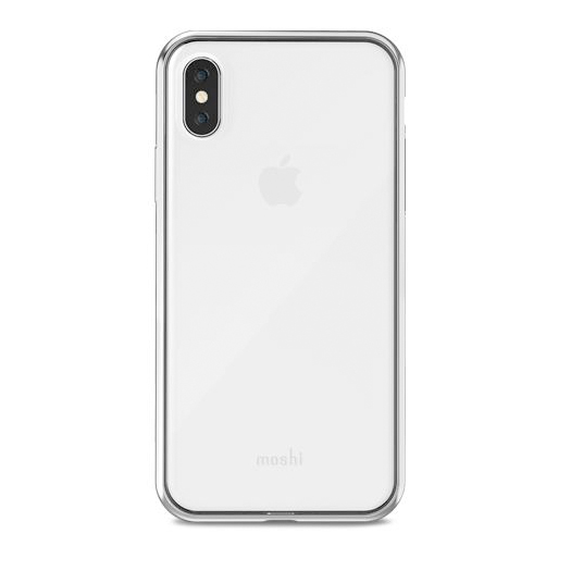 low priced a30a9 ee071 Moshi Vitros Cover For iPhone X/Xs Silver
