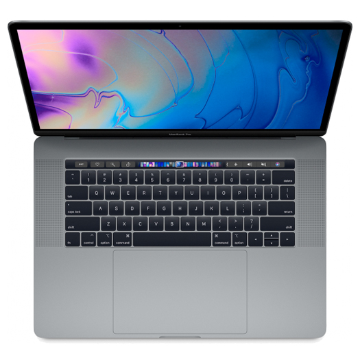 Apple MacBook Pro 15 inch Touch Bar 2.3Ghz 8 Core i9 512GB Space Grey MV912