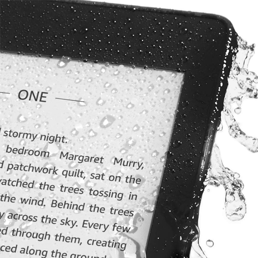Amazon Kindle Paperwhite Waterproof Wi-Fi With Special Offers 8GB Black  (10th Gen 2018)