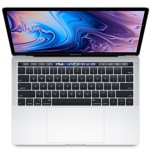 Apple MacBook Pro 13 inch Touch Bar 2.3Ghz Quad Core i5 512GB Silver