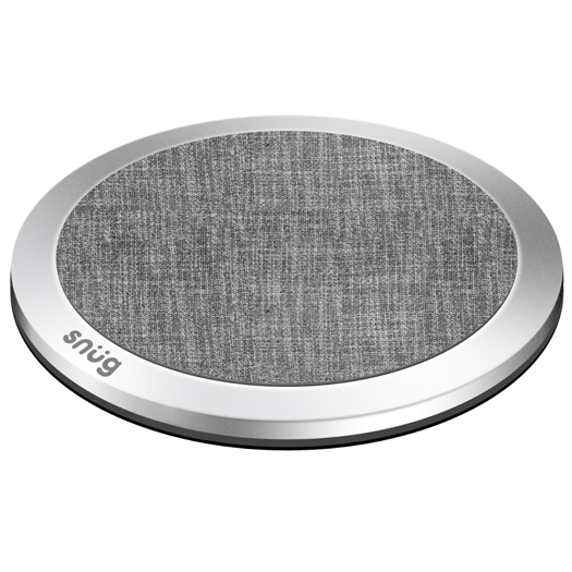 Snug Fast Wireless Desktop Charging Plate