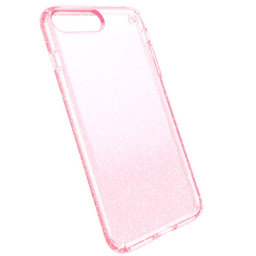 cheaper fe63e 88532 Speck Presidio Case For iPhone 7/8 PLUS Clear + Pink Glitter