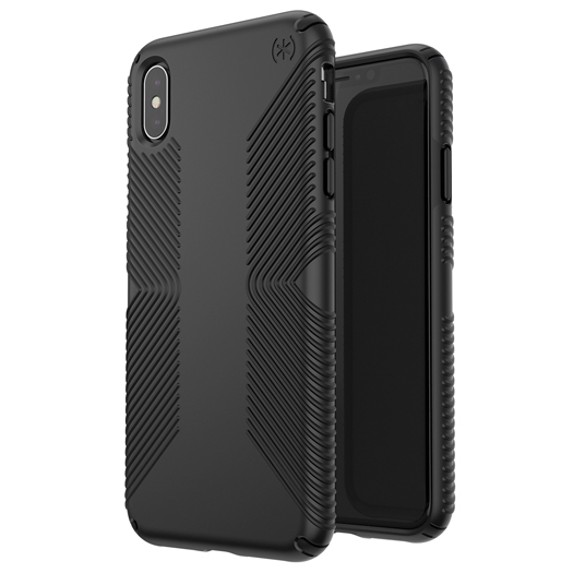 Speck Presidio Grip Case For iPhone Xs Max Black/Black