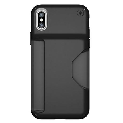 quality design fba23 f17f1 Speck Presidio Wallet Case For iPhone X/Xs Black