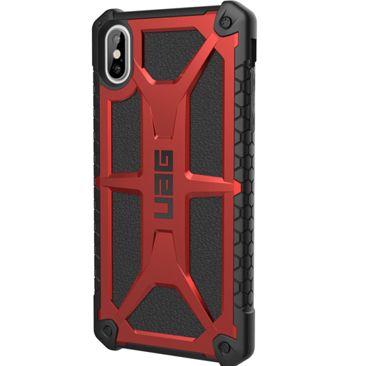 UAG Monarch Case For iPhone Xs Max Crimson/Black