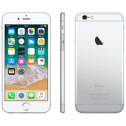 sports shoes 3eeef 13c23 Apple iPhone 6S Plus 64GB Silver/White Used - Shop and Ship Online ...