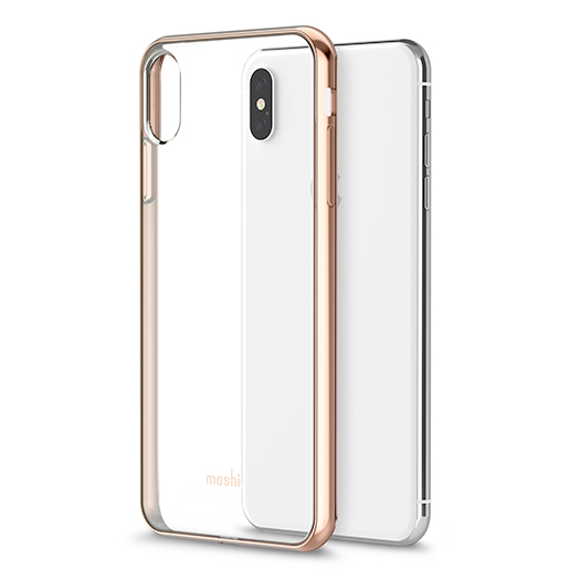 big sale c13ba 3627b Moshi Vitros Cover For iPhone Xs Max Champagne Gold