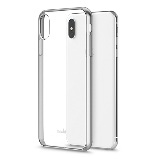 brand new ea76c 6d7ff Moshi Vitros Cover For iPhone Xs Max Jet Silver