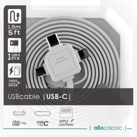 Allocacoc 3-In-1 USB Charge Sync Cable White.jpg