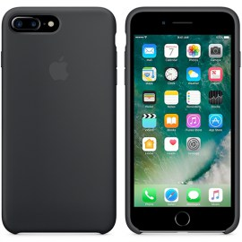 Apple Silicone Case For iPhone 7 PLUS Black.jpg