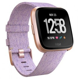 Fitbit Versa Woven Rose Gold