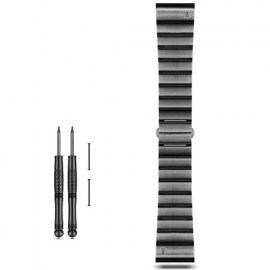 Garmin Metal Watch Band For Fenix 3_Fenix 3 HR Black.jpg