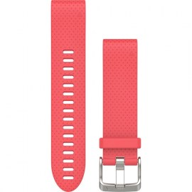 Garmin QuickFit 20mm Silicone Watch Band For Fenix 5S Azalea Pink.jpg