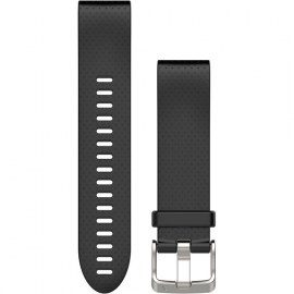 Garmin QuickFit 20mm Silicone Watch Band For Fenix 5S Black.jpg