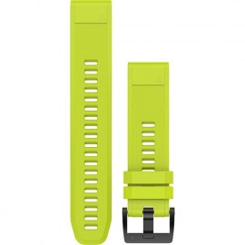 Garmin QuickFit 22mm Silicone Watch Band For Fenix 5 Yellow.jpg