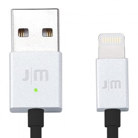 Just Mobile AluCable LED 1.2M Lightning Cable Silver.jpg