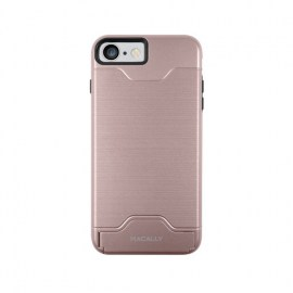 Macally Case With Kickstand For iPhone 7 Rose Gold_1.jpg
