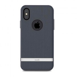 Moshi Vesta iPhone X Blue 1