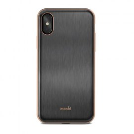 Moshi iGlaze iPhone X Black 1