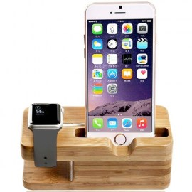 Tek88 Bamboo Wood Charging Stand For Apple Watch  _  iPhone_1.jpg