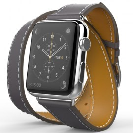 Tek88 Hermes Leather Double Band For 38mm Apple Watch Graphite_1.jpg